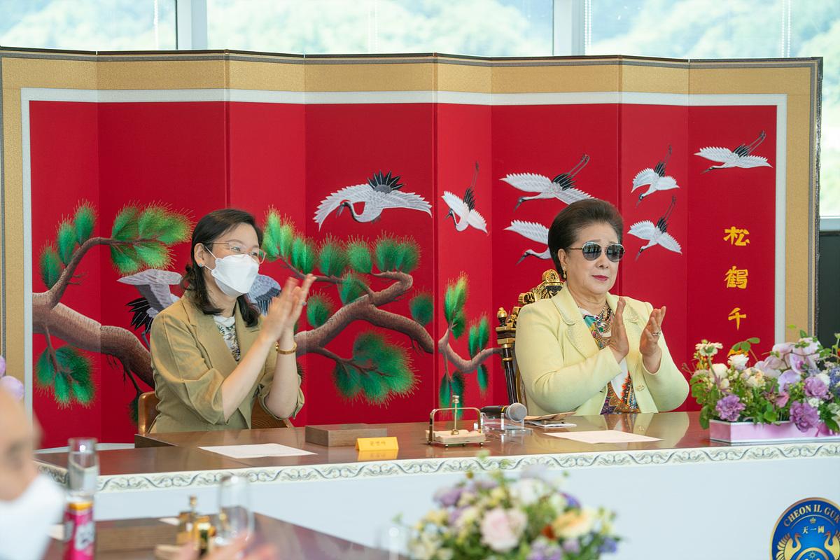 [天地人真の父母様主管] HJ天宙天寶修錬苑 孝情宴オープン記念試食会