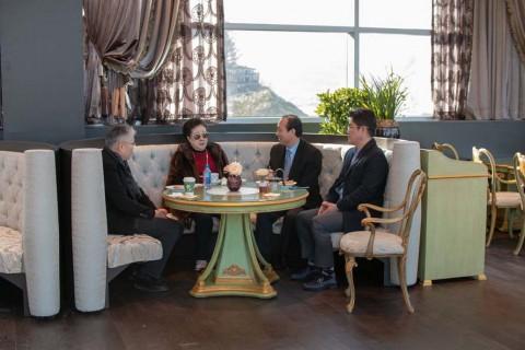 真の父母様 孝情カフェ 来訪
